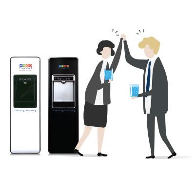 envirocool renta despachadores de agua purificada para los empleados de tu empresa