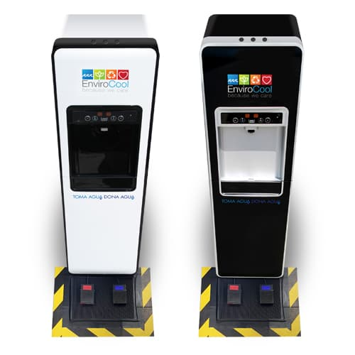 envirocool renta despachadores de agua purificada modelo e-cool touchless