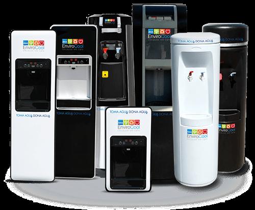 envirocool renta despachadores de agua purificada un modelo para cada necesidad